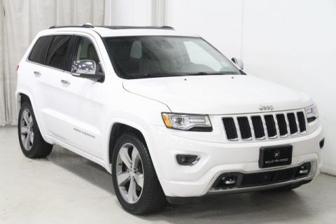 Pre-Owned 2015 Jeep Grand Cherokee Overland 4WD 4D Sport Utility