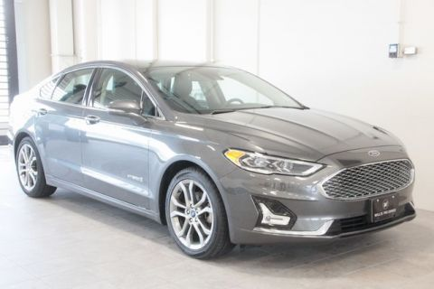 Pre-Owned 2019 Ford Fusion Hybrid Titanium FWD 4D Sedan