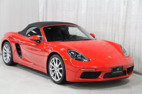 Pre-Owned 2017 Porsche 718 Boxster Base RWD 2D Convertible